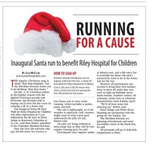 Santa Run Article
